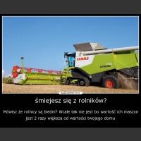 śmiejesz się z rolników?