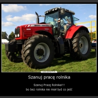 Szanuj pracę rolnika